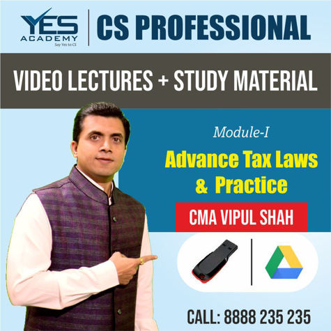 Picture of CS Professional - Advanced Tax Laws & Practice