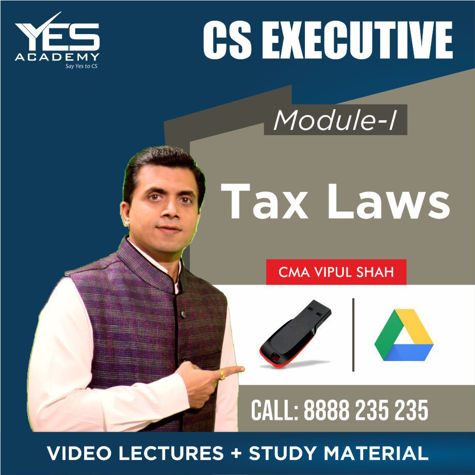 Picture of CS Executive - Tax Laws & Practice